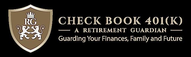 Check Book 401 (K) Logo