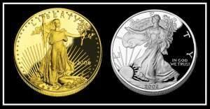 Gold Silver Coin