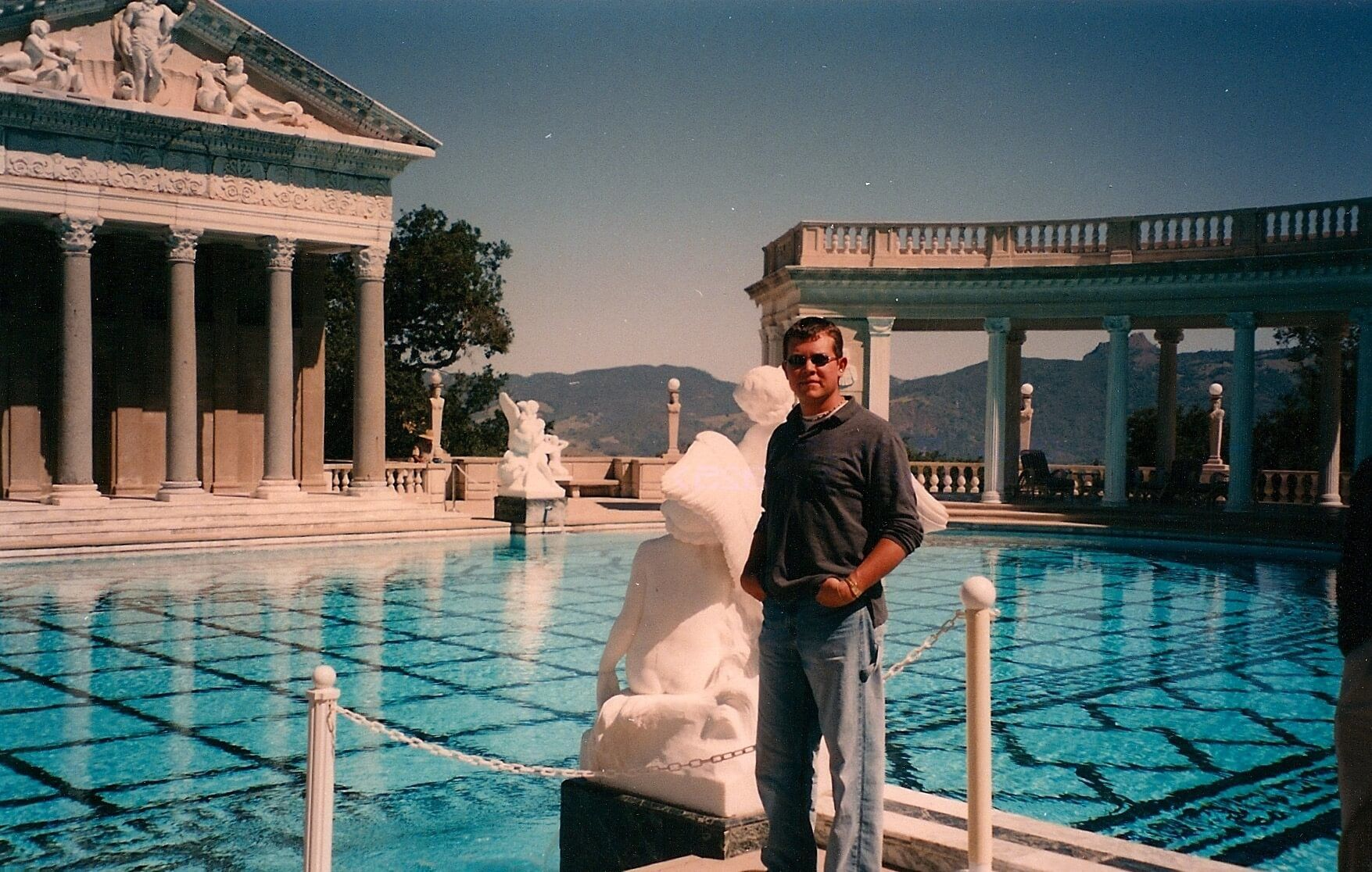 Jordan Sheppherd at Hearst Castle