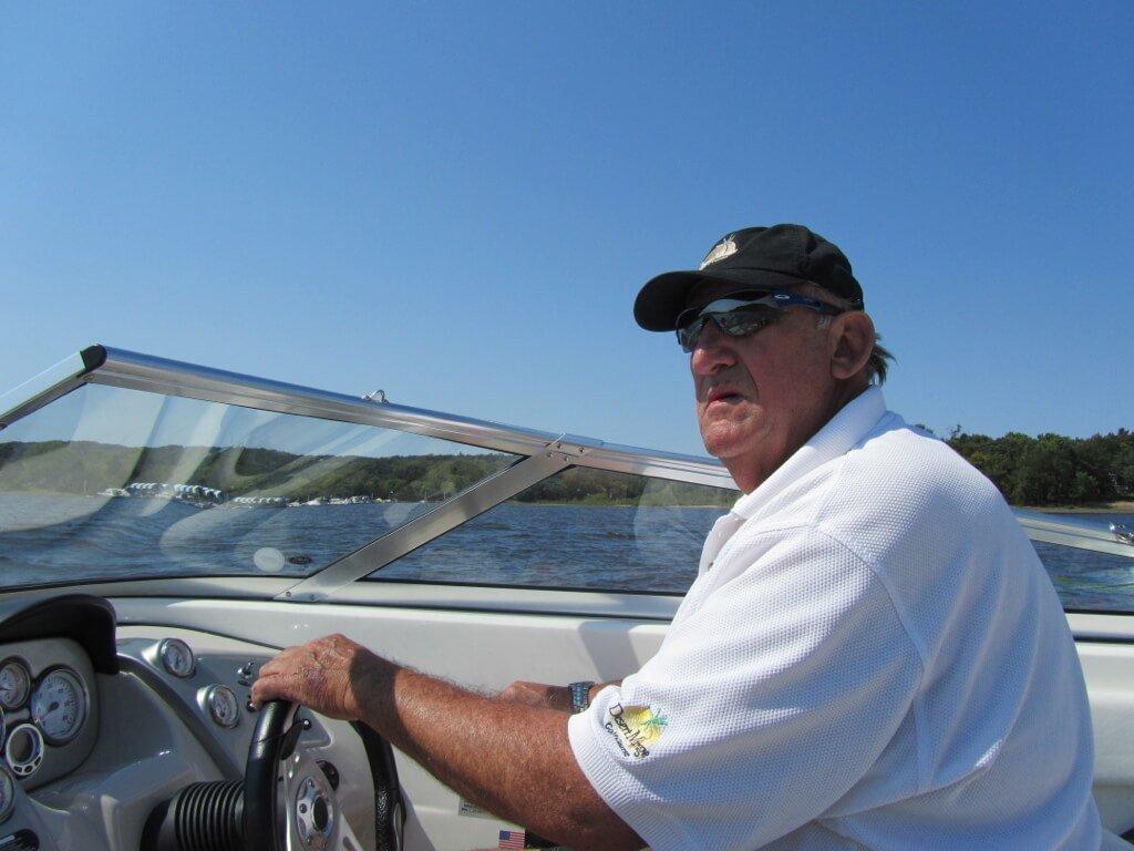 Peter in Boat