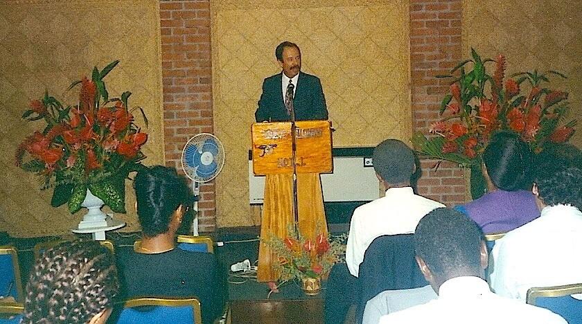 Steve Sheppherd speaking