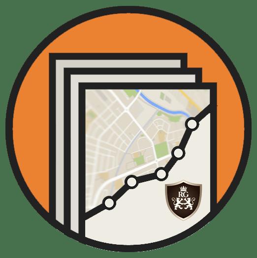 oragne badge