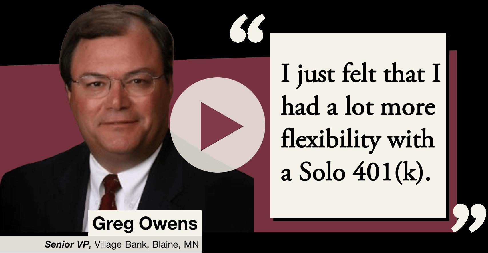 Greg Owens Flexibility Website