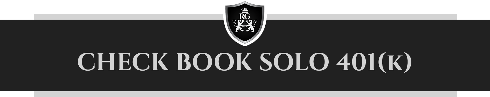 Check Book Solo 401 (K)